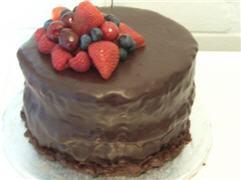 Seriously chocolatey cake