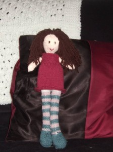 standing rag doll