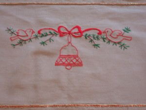Centre Embrodery Design