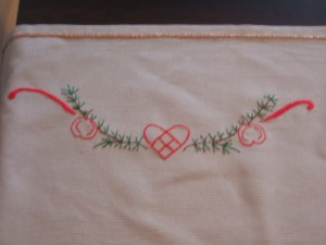 Side Embroidery Design